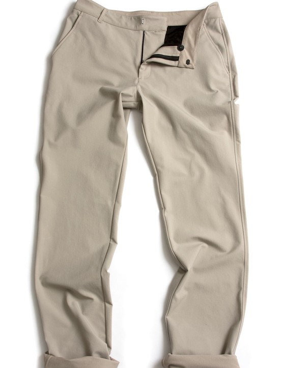 They don't look like technical cycling pants, do they?