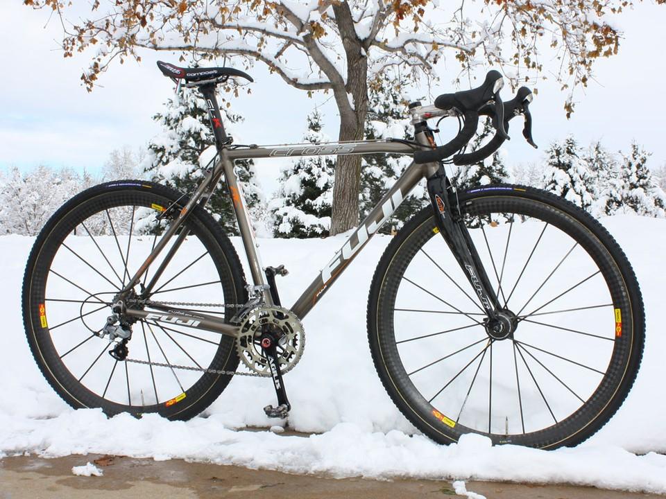 Pro bike: Davide Frattini's Fuji Cross RC - BikeRadar