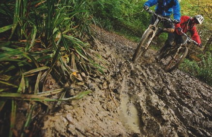 The right kit can help deal with muddy trails