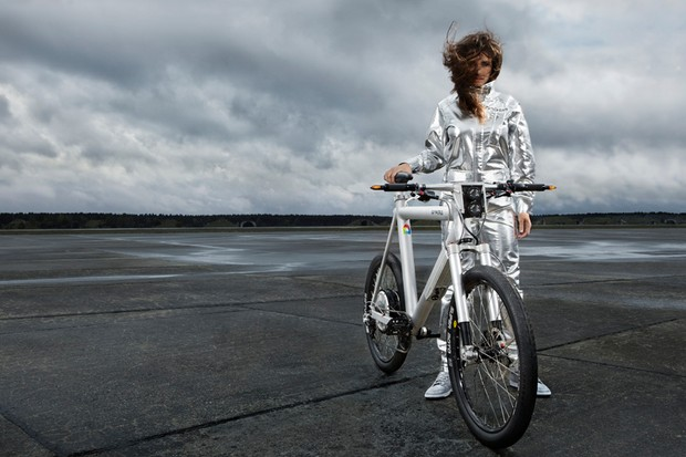The €5,877 Grace is claimed to be the world's first street legal 'e-motorbike'
