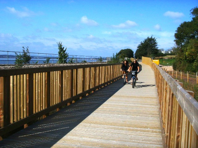 The latest section of the Exe Estuary Trail in Devon will open in spring 2010