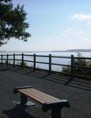 The Exe Estuary Trail between the villages of Exton and Lympstone