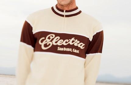 The Electra Merino wool retro jersey.