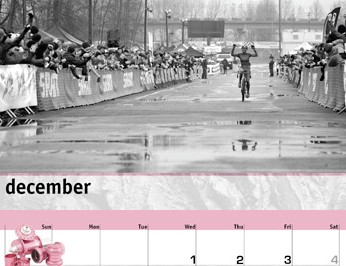 The 2010 Chris King 'Pretty and Strong' calendar.