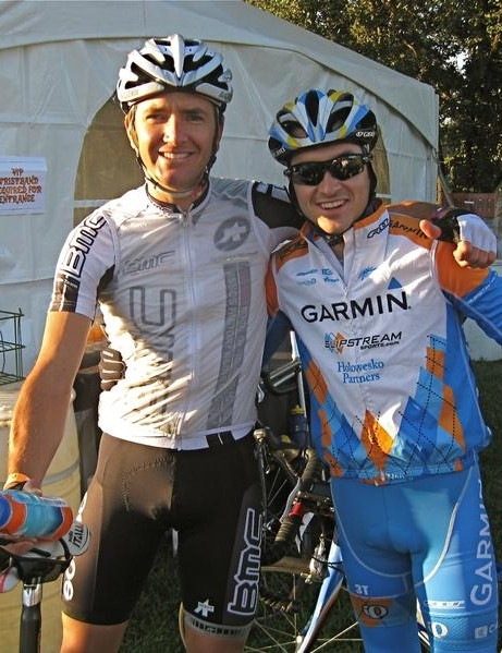 BMC Racing's Scott Nydam and Garmin's Lucas Euser are both local to Sonoma County, CA.