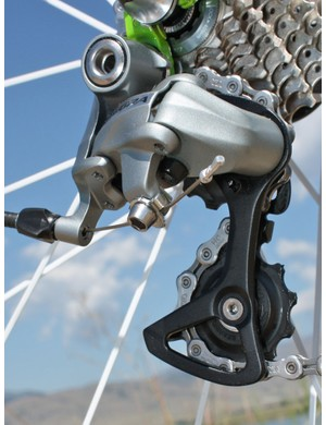 The pulley cage remains a durable forged alloy unit