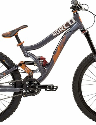 One of Dueck's two Norco rides for 2010, the Empire SE.