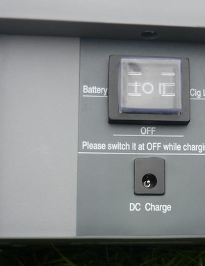 Charge via the mains