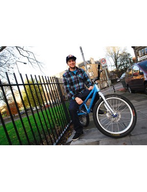 Danny Mac is selling his bike for Children In Need.