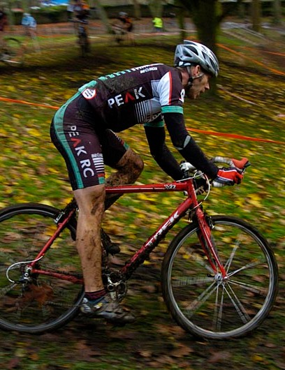 Competition was fierce at round six of the Yorkshire Cyclo-Cross Series