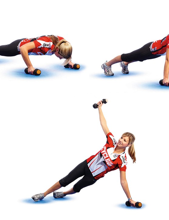 PRESS-UP TO ROTATIONAL TWIST