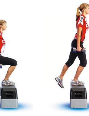 Single leg step-up