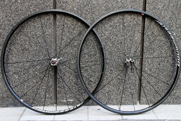 Bouwmeester's Hors Categorie wheelset boasts a low-profile rim for some no-nonsense climbing capabilities