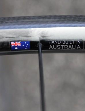 Each Hors Categorie wheelset is hand-built in Australia