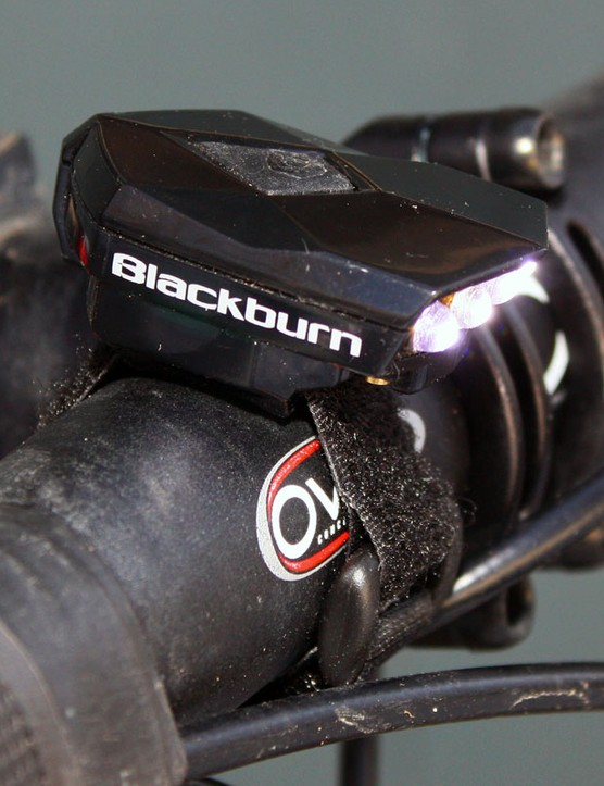 Blackburn's tiny Flea weighs just 19g but kicks out a modest 40 lumens on Overdrive mode