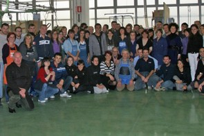 Sidi Sport's staff were delighted to meet Contador