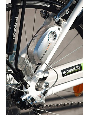 The Puch uses the Panasonic electric assist system, a well proven design, coupled to a Nexus Auto-D gear system