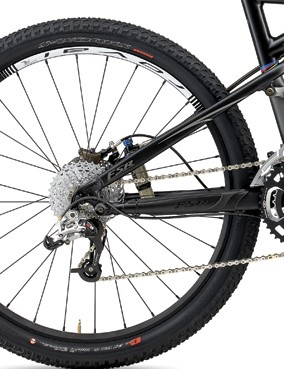 For 2010, the Brain mounting tab was modified and moved closer to the rear axle. These changes resulted in less material at a stressed point, and cracks have now been found on eight bikes