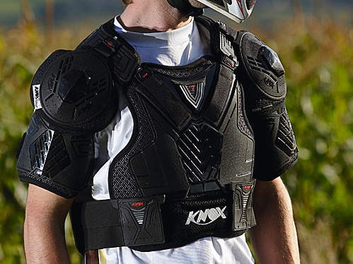 Knox Warrior BC9 Neck Brace Compatible Armour