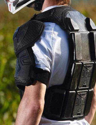 Knox Warrior BC9 Neck Brace Compatible Armour