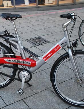 Call a Bike hire scheme