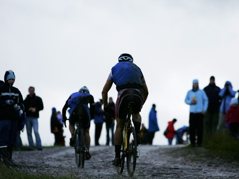 Days of rain made for muddy racing this weekend