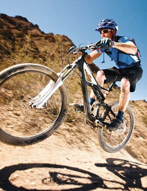 despite its rattly fork, the  S-Works Enduro is a light, agile all-rounder that's great fun to ride