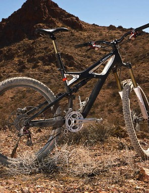 The Enduro S-Works' sorted handling balance boosts  confidence on the trails