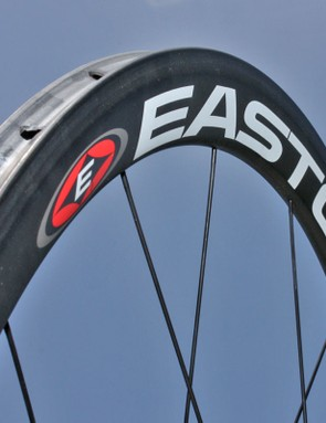 The 38mm rim depth offers an aero advantage over most box-section wheels without being too much to handle in crosswinds