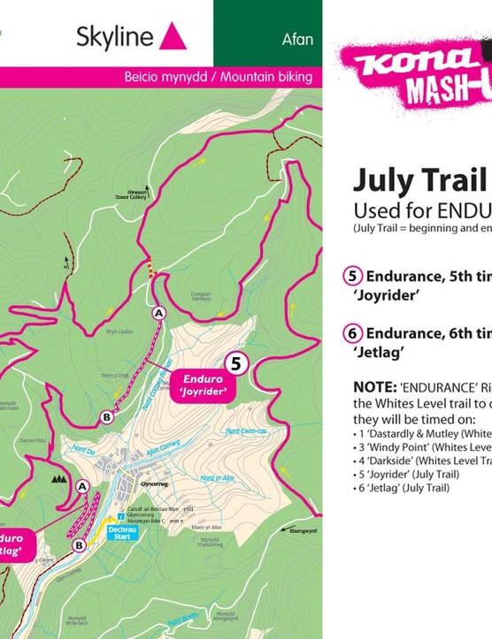 Endurance route