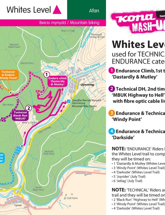 Technical and Endurance route