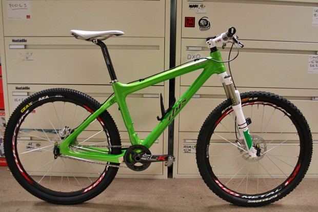 Justin has finished building up his Ibis Tranny long-termer, and it was worth the wait