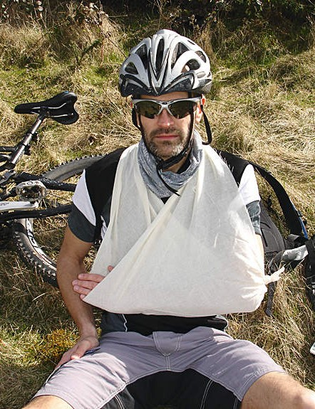 First aid treatment for when you're out on the trail