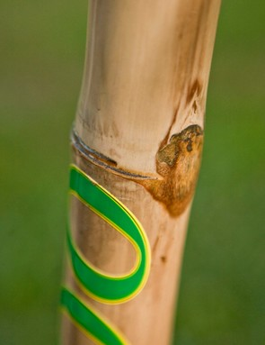 Given the natural materials, slight imperfections are to be expected and add to the bike's character
