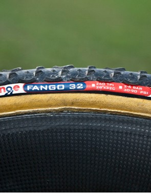 Wren uses Challenge's latest Fango tread for better grip than their more traditional Grifo pattern