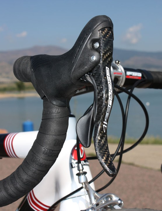 Campagnolo's new Chorus group offers superb ergonomics, fantastic overall shifting performance and very good braking – not to mention a beautiful finish