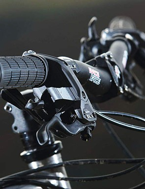 Shimano SLX gears and brakes perform excellently