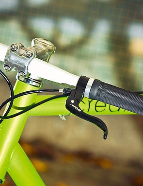 Thick grips and a quality saddle are great for comfort