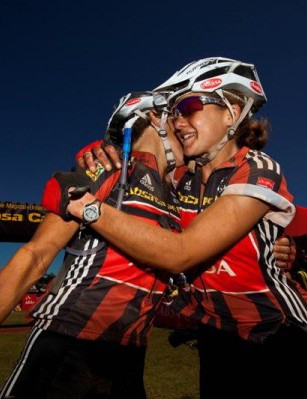 Hanlie Booyens and Sharon Laws won the 2009 Absa Cape Epic