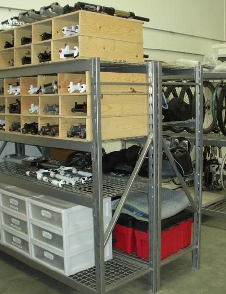 The lock-up at the Santa Clarita facility