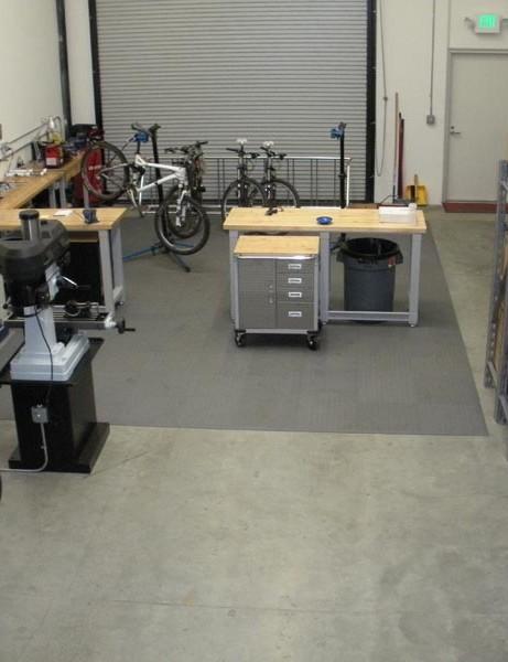 Clinical, clean workshop