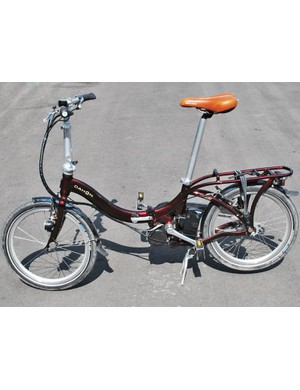 Dahon's folding Boost bike