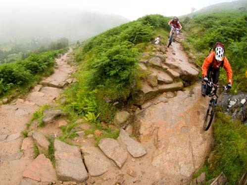 Go-Where will take you, your bike and your kit to Scotland's best trails.