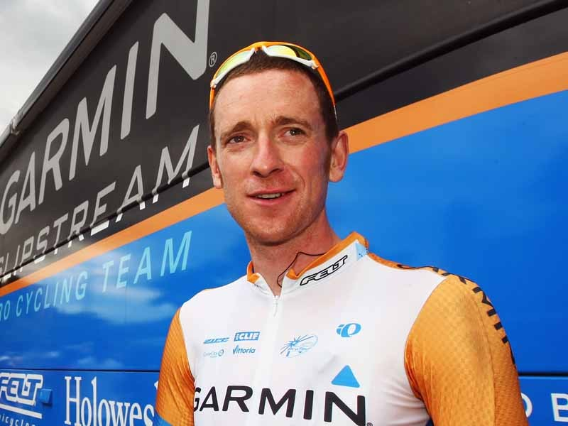 Caption: Brad Wiggins has finally confirmed his move from Garmin-Slipstream to Team Sky