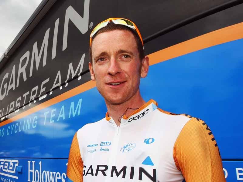 Caption: Brad Wiggins has finally confirmed his move from Garmin-Slipstream to Team Sky