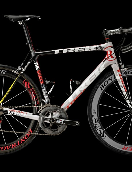 Lance Armstrong and Team Radio Shack will ride these striking Trek Madone 6-Series bikes for the upcoming season.