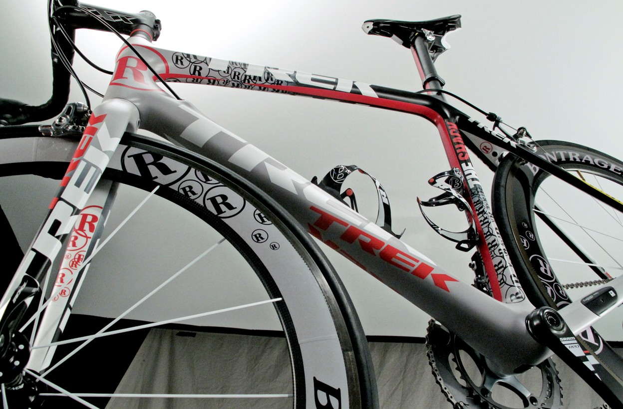 The level of intricacy on the new team paint schemes approaches that of some of Armstrong's custom rigs used last year.