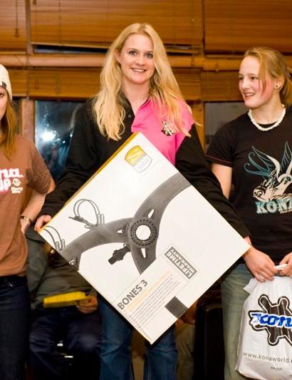 Female Endurance podium
