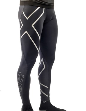 The 2XU Elite Compression Tights muster up an impressive amount of squeeze given its paper-thin fabric to help shorten recovery time