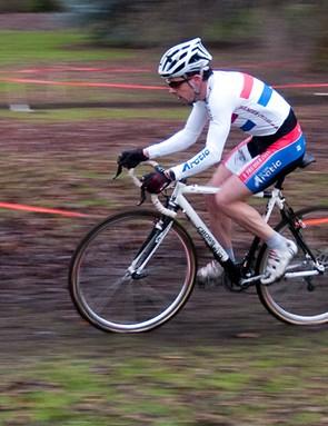 Jody Crawforth en route to victory